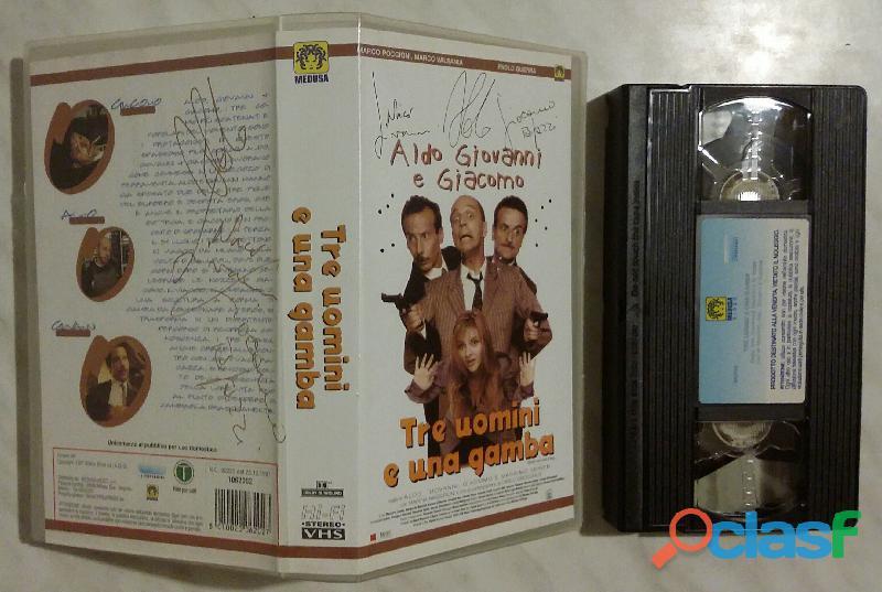 Aldo Giovanni e Giacomo. Tre uomini e una gamba VHS