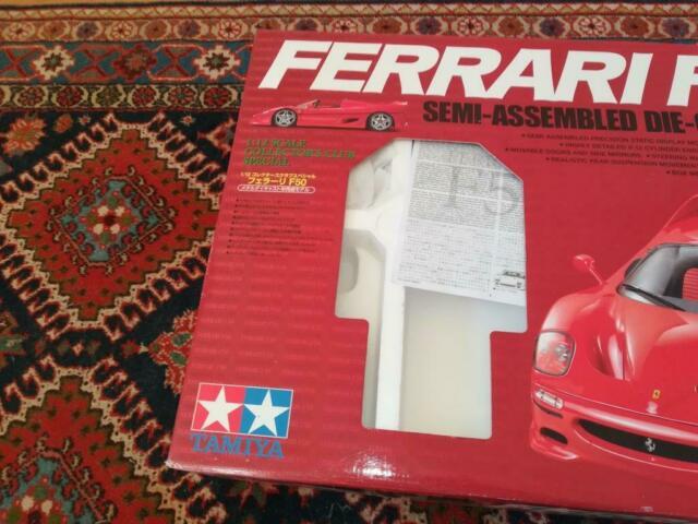 Scatola vuota Ferrari Tamiya F50 scala 1/12