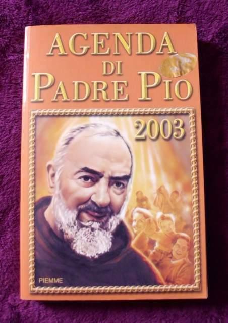 Agenda di Padre Pio