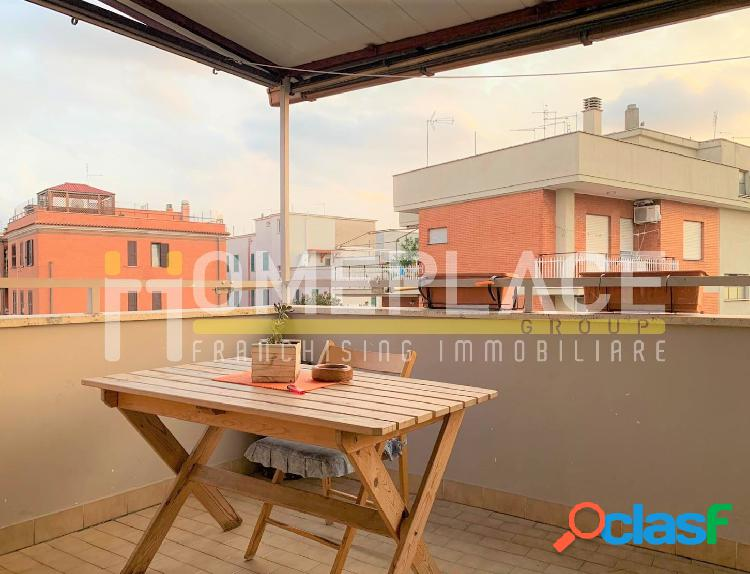 Alessandrino: Trilocale con terrazzo