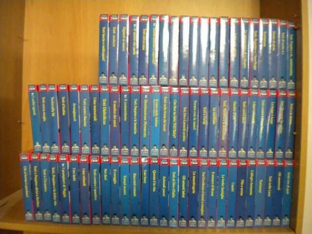Collana VHS videocassette Il grande cinema di Totò