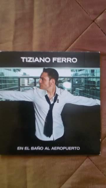 TIZIANO FERRO cds canta in spagnolo promozionale