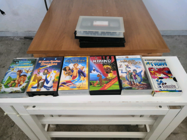 VHS ORIGINALI cartoni Walt Disney