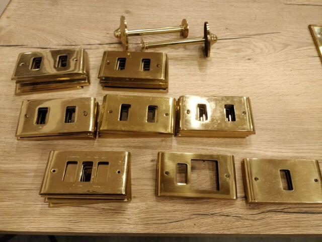 Placche da prese elettriche e interruttori