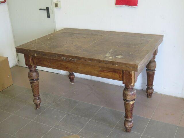 Antico tavolo da cucina allungabile 139x100