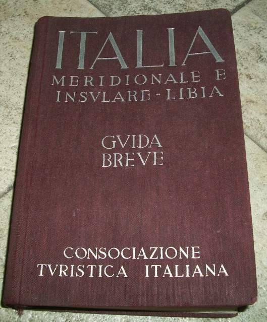 TCI Guida Breve Italia Meridionale, Isole e Libia,
