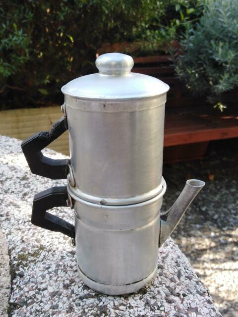 Caffettiera napoletana alluminio vintage