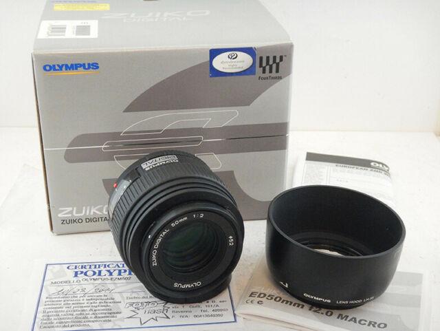 Olympus 50mm f2 MACRO ZUIKO DIGITAL + Paraluce + SCATOLA
