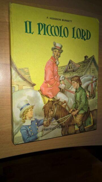 04 Il piccolo lord (Fabbri editori) libri magnifici