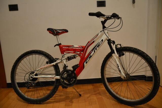 """Bici MTB Olmo 24"""" biammortizzata"""