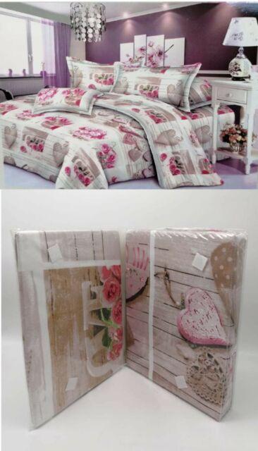 2 Coppie di lenzuola matrimoniali con stampa in 3D