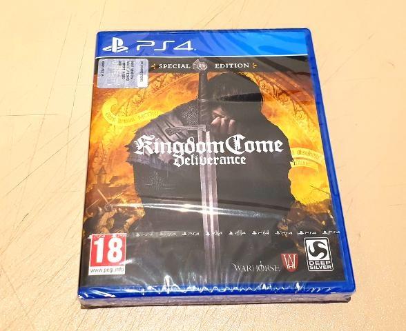 KINGDOM COME DELIVERANCE SPECIAL ED PS4