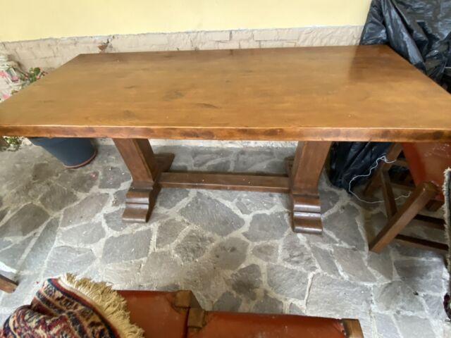 Tavolo rovere massello più 6 sedie