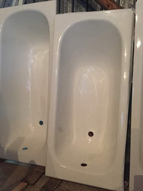 Vasca da bagno in acciaio 140x70 a incasso