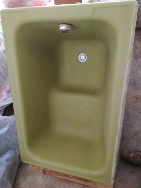 Vasca da bagno vintage in ghisa porcellanata