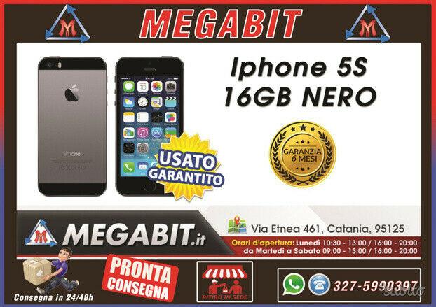 Iphone 5s 16gb nero con garanzia