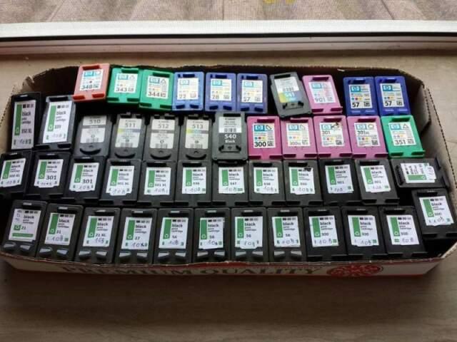 Lotto Cartucce HP - CANON vendita anche singola
