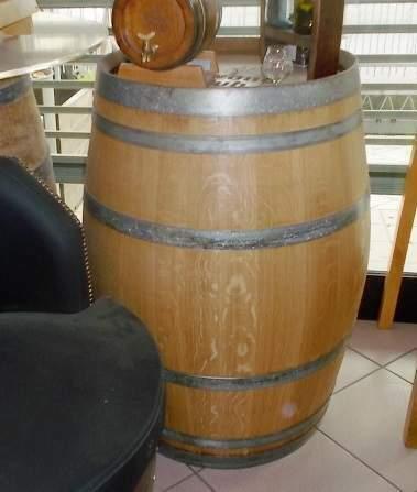 Barili h.92 cm in legno massello