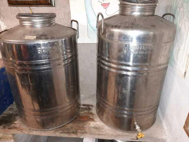 Botti in acciaio INOX per OLIO