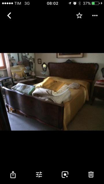 Camera da letto stile chippendale