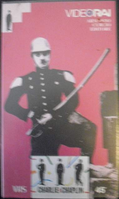 Charlie chaplin vhs l'emigrante video rai