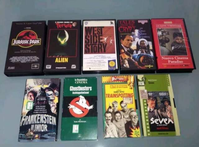 Film VHS da collezione