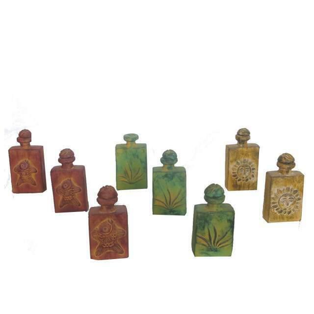 Loto N 20 - Composto da 120 vasi bottiglia in terracotta