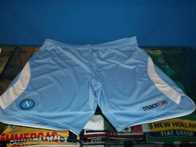 Pantaloncino gara Napoli,azzurro e bianco