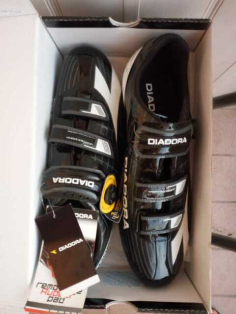 Scarpe bici corsa Diadora vortex comp. N.50 nuove!