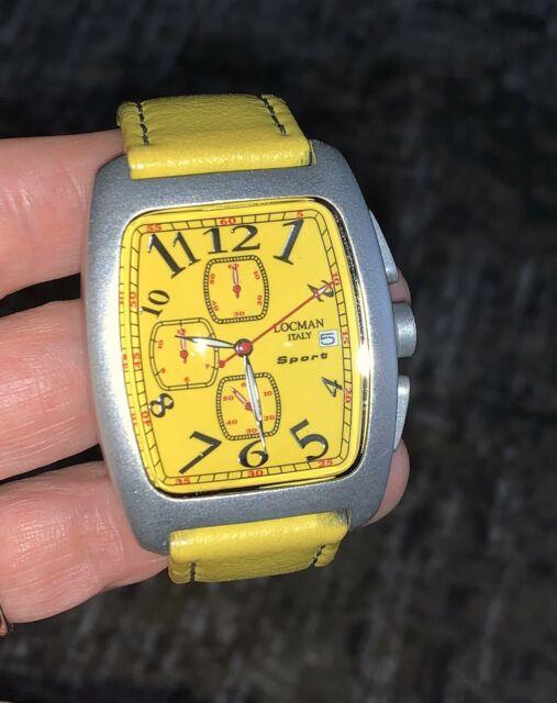 Cronografo in alluminio Locman
