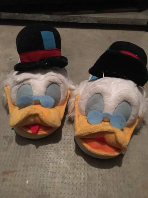 Pantofole Walt Disney zio paperone