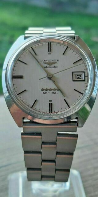 Longines admiral five star automatic date