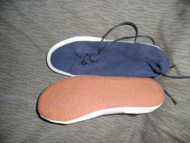 Scarpe superga in pelle vintage taglia 37 nuove