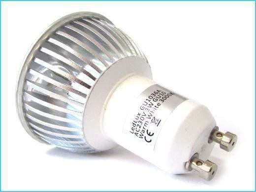 Faretto Lampadina LED GU10 3W 3X1W