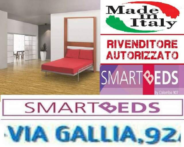 Letto a scomparsa a roma flat r-SMARTBEDS COLOMBO 907