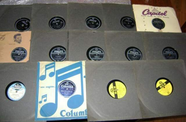 Lotto dischi 78 giri lp vintage fonit cetra mgm philips