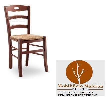 Sedie In Legno Arredamento Pub Bar Ristorante cod/P No