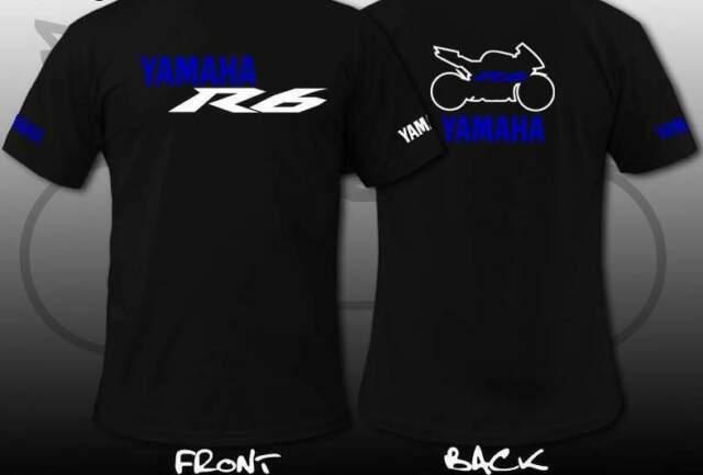 T-shirt yamaha r6 r1 personalizzabile moto gp vari colori