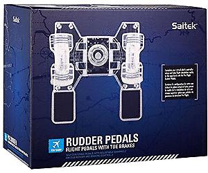 Saitek Pro Flight Rudder Pedals (NUOVO)