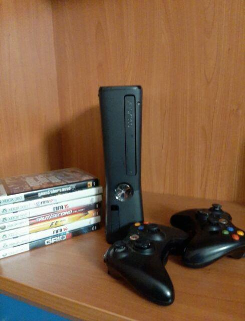 Xbox 360 slim + giochi