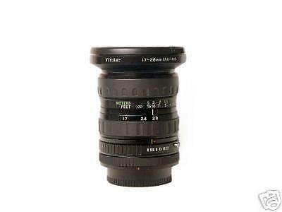Zoom VIVITAR WideAngle mm f4-4,5 x CANON FD
