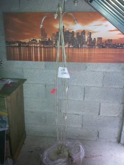 LAMPADA DA TERRA H200 cm a 5 punti lampadine G9