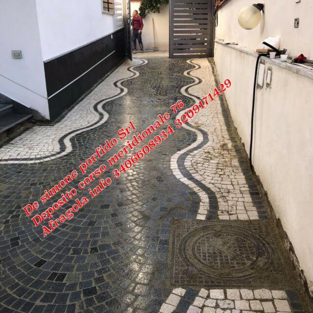 Porfido per pavimenti e rivestimenti