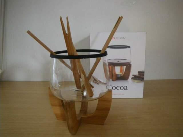 Set da Fonduta Cocoa XD Design-Nuovo, imballato e mai usato