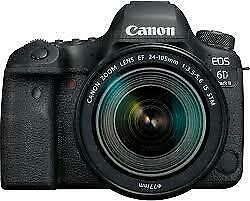 Fotocamera Canon eos 6D Mark II con obiettivo Canon ef