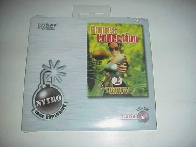 Games collection strategy gioco videogioco pc cd rom nuovo