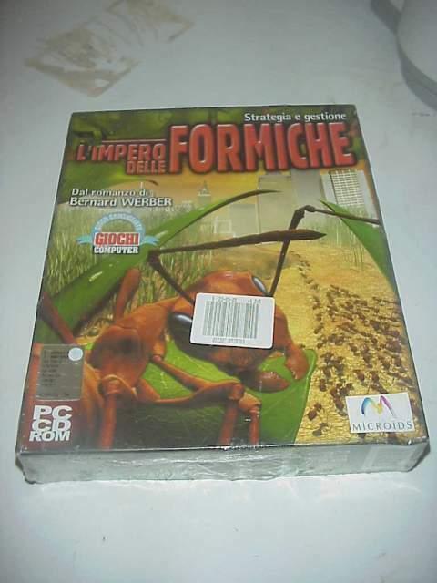 L'impero delle formiche gioco videogioco pc cd rom nuovo