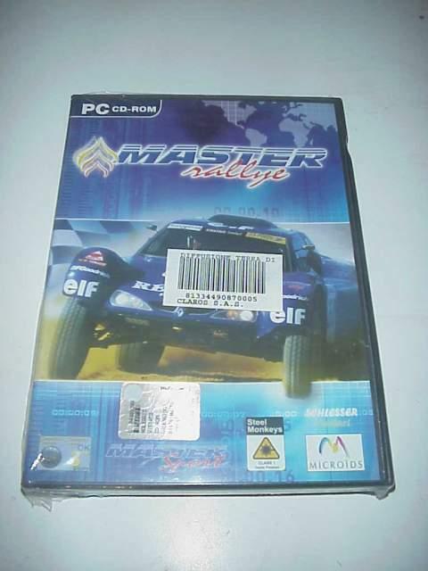 Master rallye auto da corsa gioco videogioco pc cd rom nuovo