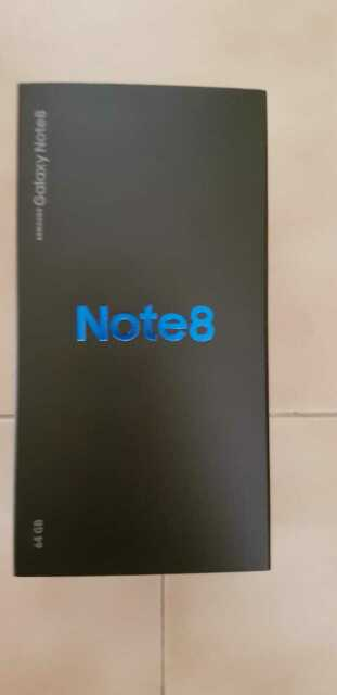 Samsung galaxy note 8 nero