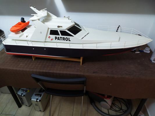 Vendo barca graupner 140